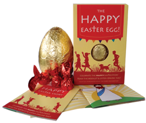 Happy Easter Egg Box and Contents