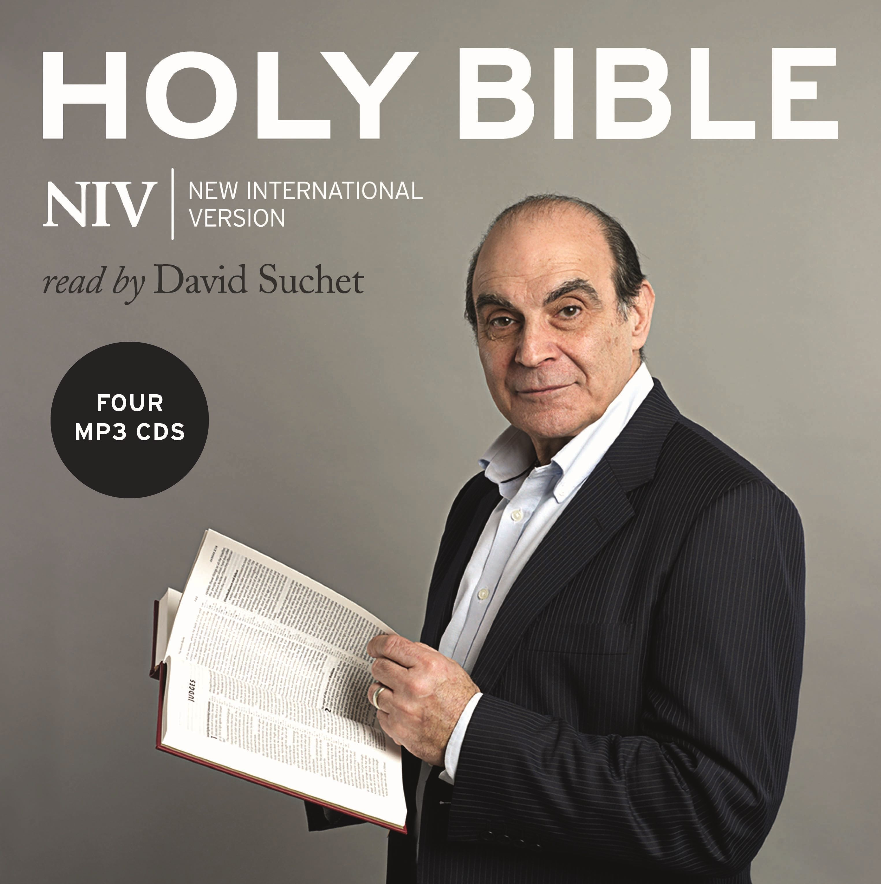 Holy Bible on MP3 CDs